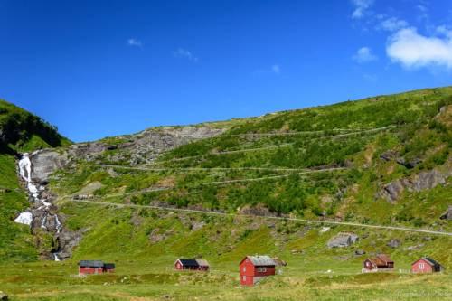 Norwegen Landschaft D72 0066