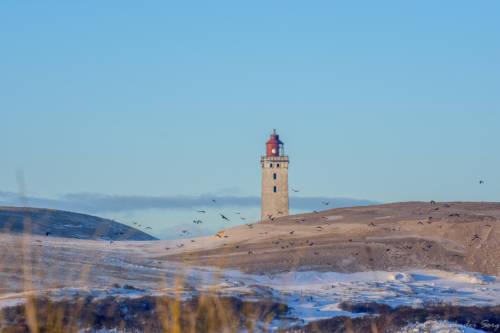 Dänemark Rubjerg Knude Fyr Winter-5599