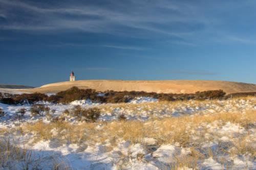 Dänemark Rubjerg Knude Fyr Winter-5657