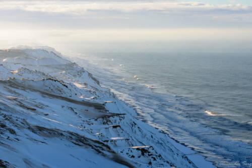 Dänemark Rubjerg Knude Fyr Winter-5714