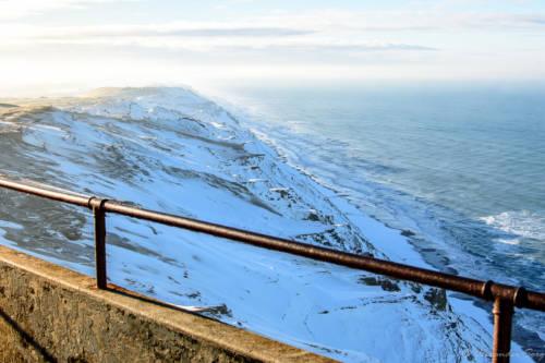 Dänemark Rubjerg Knude Fyr Winter-5720