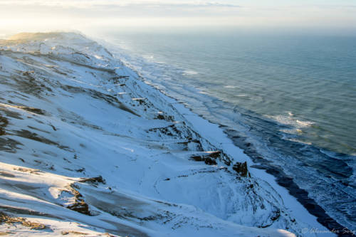 Dänemark Rubjerg Knude Fyr Winter-5722