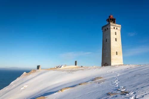 Dänemark Rubjerg Knude Fyr Winter-5751