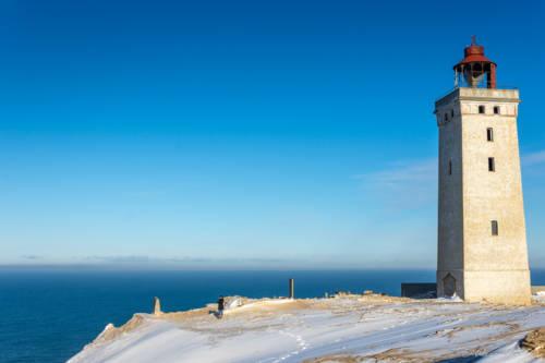 Dänemark Rubjerg Knude Fyr Winter-5752
