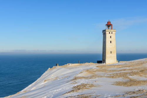 Dänemark Rubjerg Knude Fyr Winter-5755