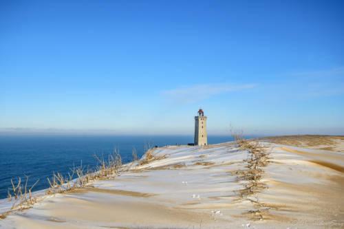 Dänemark Rubjerg Knude Fyr Winter-5759