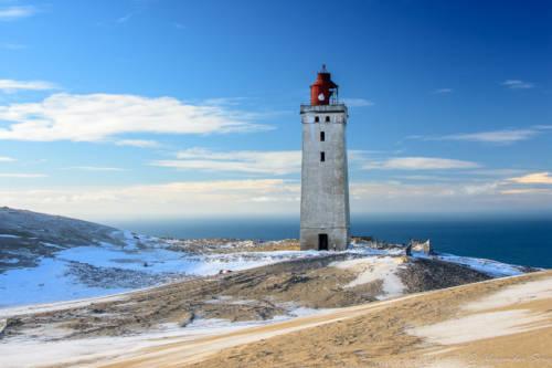 Dänemark Rubjerg Knude Fyr Winter-5788