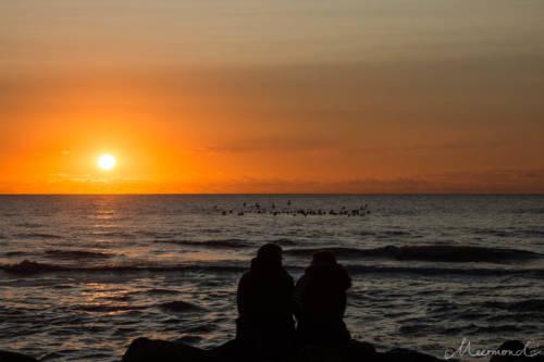 Dänemark im September - den Sonnenuntergang am Meer genießen