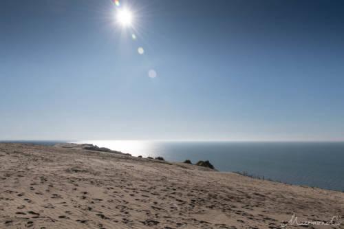 Dänemark im September - Blick auf's Meer von der Rubjerg Knude
