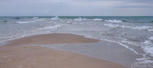 Meere prallen aufeinander