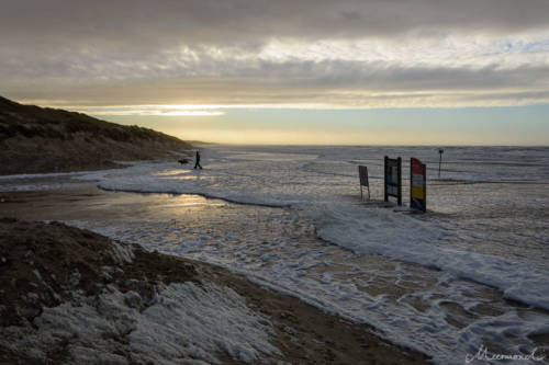 Stürmische Nordsee - Løkken Süd