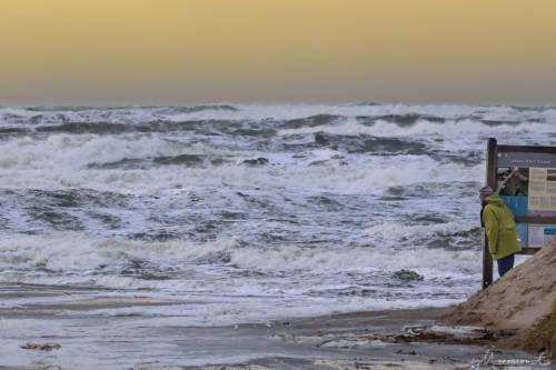 Stürmische Nordsee - Løkken Strand