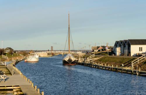 Der Frederik VII Kanal Richtung Aggersund