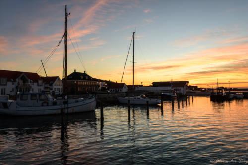 Der Hafen von Løgstør