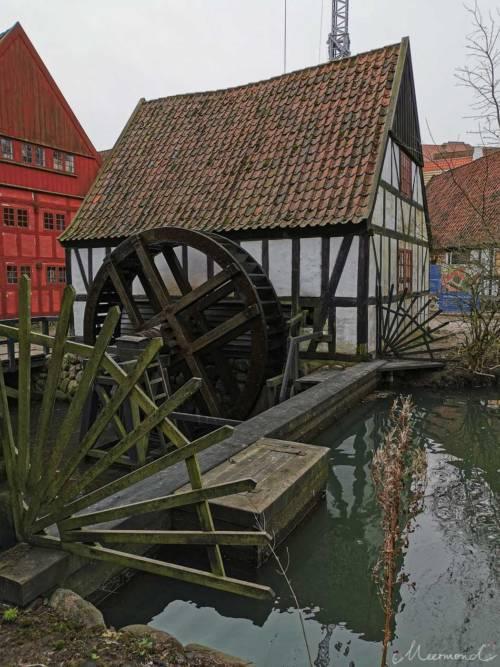 Die Mühle ist in Betrieb