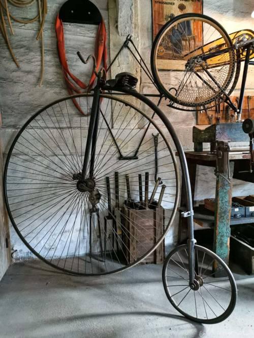 In der alten Fahrradwerkstatt