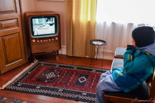 Im Wohnzimmer von 1974