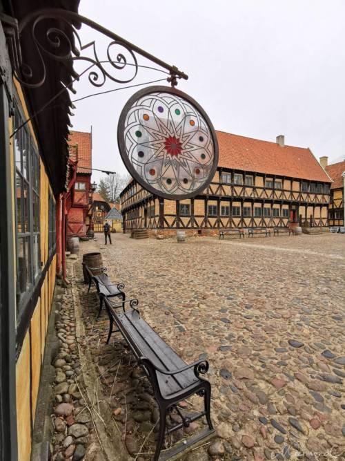 Blick auf den Borgmestergård