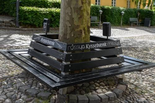 Djursland - Ebeltoft Kyssebænk