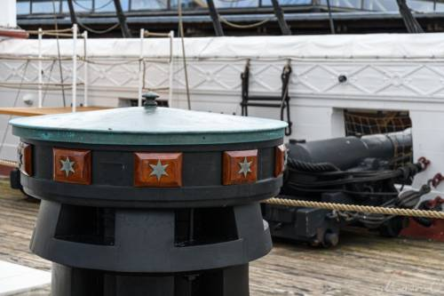 Fregatte Jylland - Ankerwinde