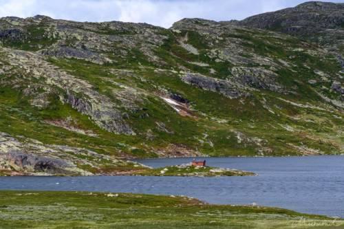 Norwegen Gaustatoppen