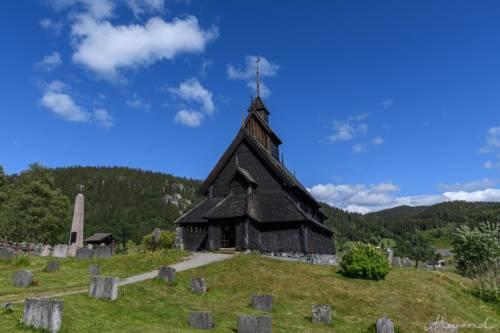 Norwegen Eidsborg Stabkirche
