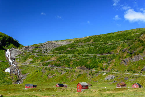 Myrkdalsvegen, Norge