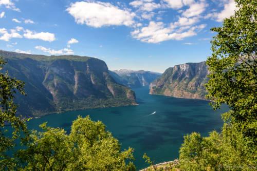 Aurlandsfjord, Norge